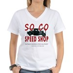 SOCO Women's V-Neck T-Shirt