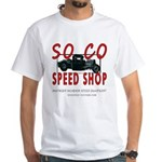 SOCO White T-Shirt