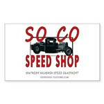 SOCO Rectangle Sticker