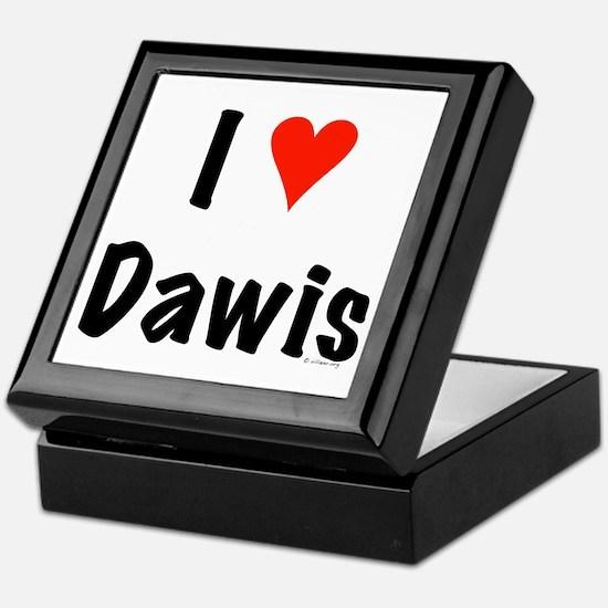 I love Dawis Keepsake Box
