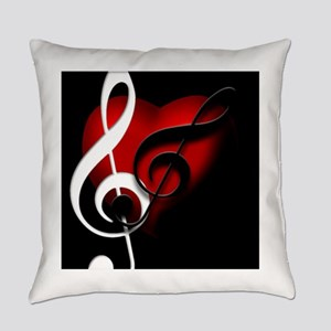 HeartandClefs Everyday Pillow