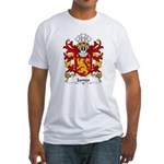 James Family Crest Fitted T-Shirt