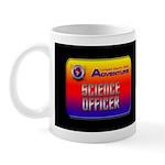Science Officer Kids Dark Mug