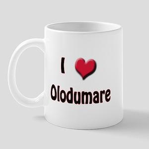 I Love (Heart) Olodumare Mug
