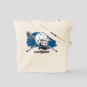 Lacrosse Attitude Tote Bag