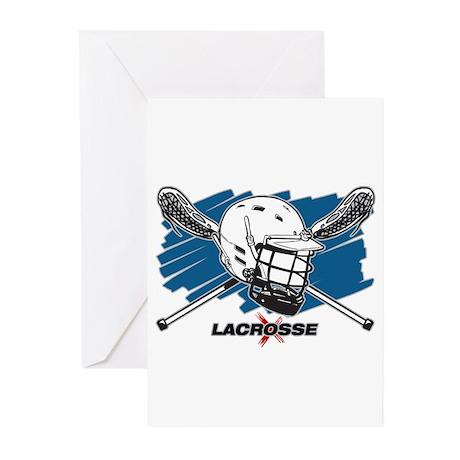Lacrosse Attitude Greeting Cards (Pk of 20)