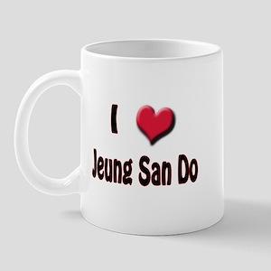 I Love (Heart) Jeung San Do Mug