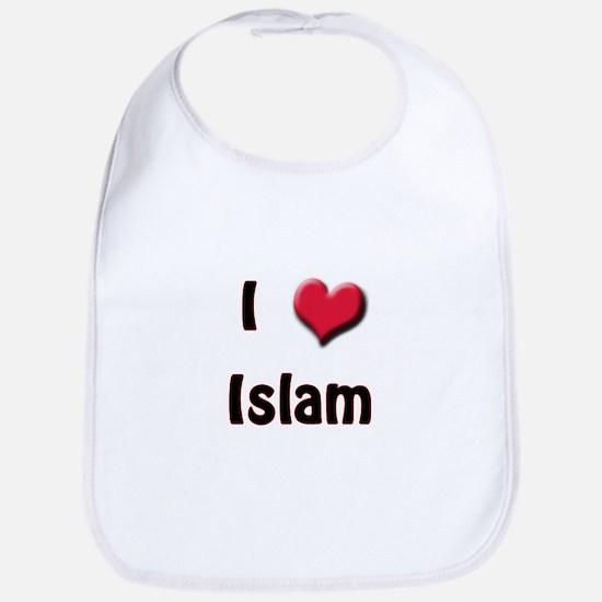 I Love (Heart) Islam Bib