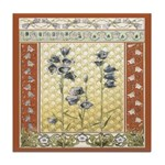 Asian Tranquility Tile Coaster