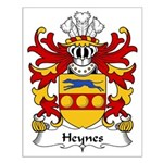 Heynes Family Crest Small Poster