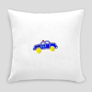 Police Car Everyday Pillow