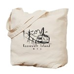 Tram & Queensboro Bridge Tote Bag