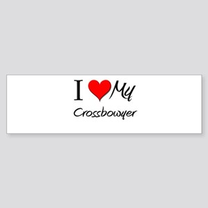 I Heart My Crossbowyer Bumper Sticker