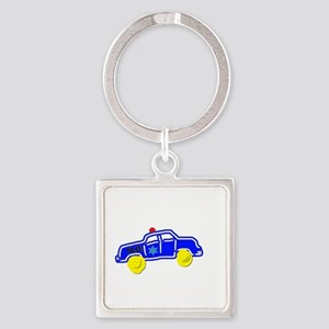 Police Car Keychains