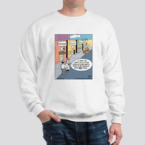 Doctor Signs Sweatshirt