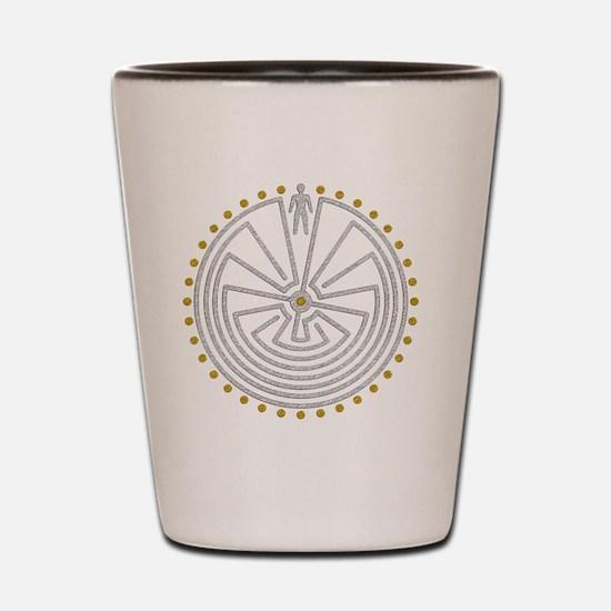 Cool Folklore Shot Glass