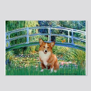 Bridge / Welsh Corgi (p) Postcards (Package of 8)