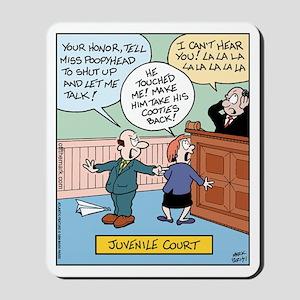 Juvenile Court Mousepad