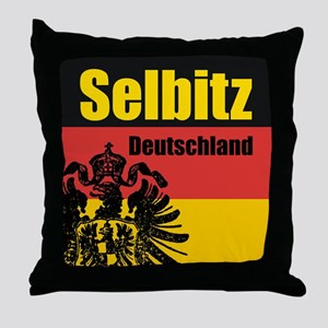 Selbitz Deutschland  Throw Pillow