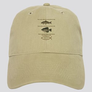 Gone Fishing Christian Style Cap