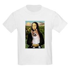 Mona Lisa / Welsh Corgi(p) T-Shirt
