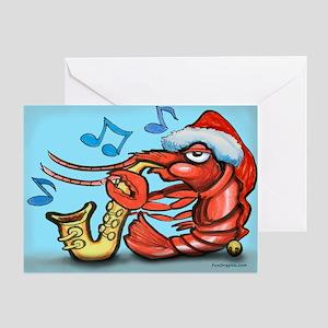 Cajun christmas greeting cards cafepress greeting card m4hsunfo