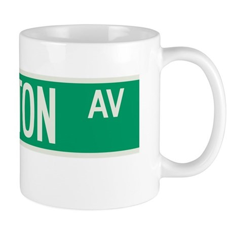 Lexington Avenue in NY Mug