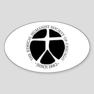 Since 1882 Oval Sticker