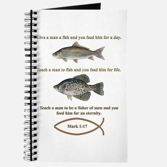 Gone Fishing Christian Style Journal