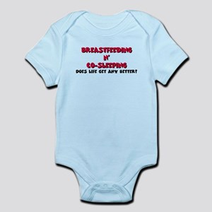Breastfeeding co-sleeping Infant Bodysuit