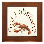 Got Lobstah? Framed Tile