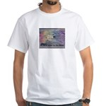 Write a Letter to the Moon White T-Shirt