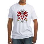 Fort Family Crest Fitted T-Shirt