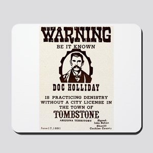 Doc Holliday Mousepad