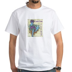 CanCan in Your Mind White T-Shirt
