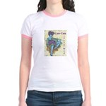 CanCan in Your Mind Jr. Ringer T-Shirt