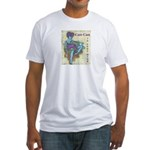 CanCan in Your Mind Fitted T-Shirt