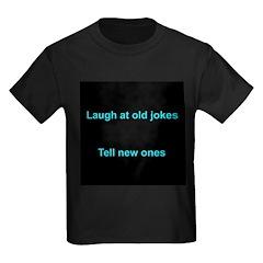 Laugh at an old joke T