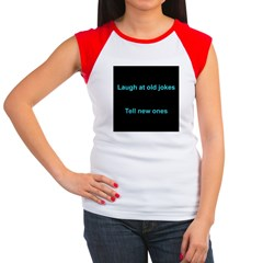 Laugh at an old joke Women's Cap Sleeve T-Shirt
