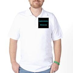 Laugh at an old joke Golf Shirt