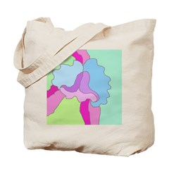 Orchid on Her Own Tote Bag