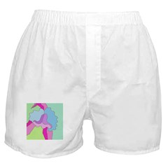 Orchid on Her Own Boxer Shorts
