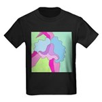 Orchid on Her Own Kids Dark T-Shirt