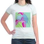 Orchid on Her Own Jr. Ringer T-Shirt