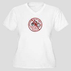 Fallen Angel Women's Plus Size V-Neck T-Shirt
