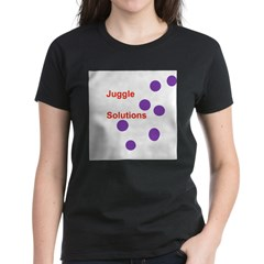 Juggle Solutions Women's Dark T-Shirt