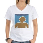 Allow your Intergity to Incre Women's V-Neck T-Shi