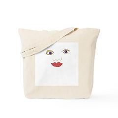 Eyes Nose Mouth Tote Bag