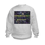 Directions to your Heart Kids Sweatshirt