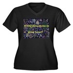 Directions to your Heart Women's Plus Size V-Neck